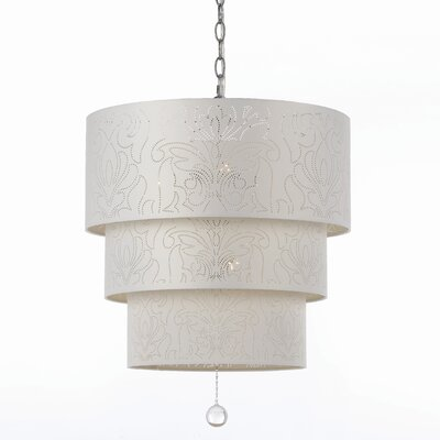 Candice Olson Over The Top 5 Light Drum Pendant
