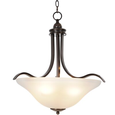 Sanibel 4 Light Inverted Pendant