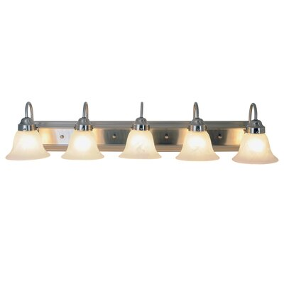 AF Lighting Lunar Bay 5 Light Bath Vanity Light
