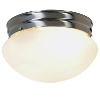 AF Lighting Incandescent 2 Light Flush Mount