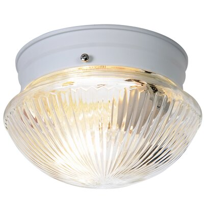 AF Lighting Monument 1 Light Flush Mount