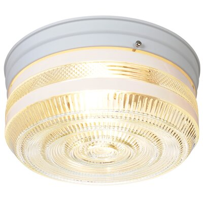 AF Lighting 2 Light Flush Mount