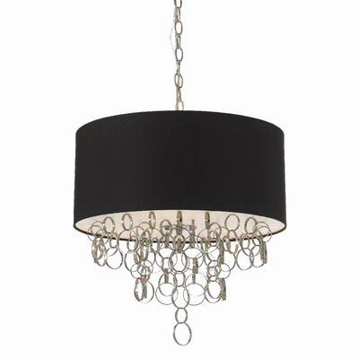 Carnegie 3 Light Drum Pendant