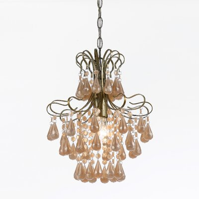 Elements 1 Light Mini Chandelier