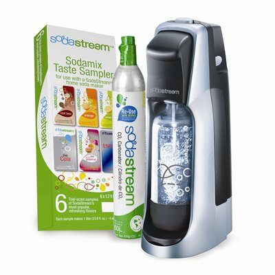 SodaStream Jet Starter Kit in Black and Silver