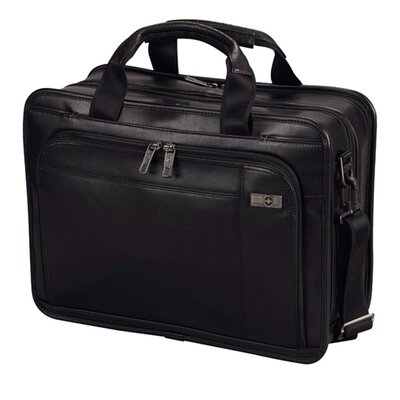Victorinox Travel Gear Architecture® 3.0 Monticello Leather Laptop Briefcase