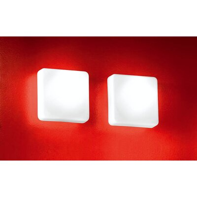 Murano Luce Cube Wall Sconce