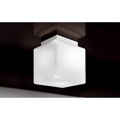 Murano Luce Qb Flush Mount in White