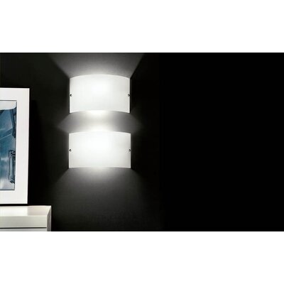 Murano Luce Slim 1 Light Wall Sconce