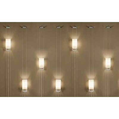 Murano Luce Hang 1 Light Wall Sconce