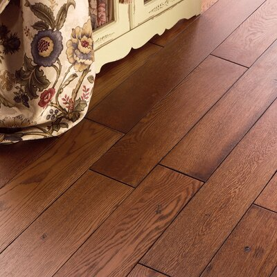 "US Floors Carriage House 5"" Solid Oak Flooring in Toast"
