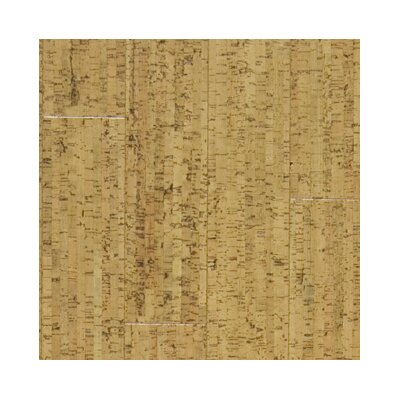 "US Floors Almada Marcas 4-1/8"" Engineered Locking Cork Flooring in Claro"