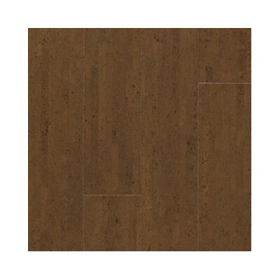 "US Floors Almada Fila 4-1/8"" Engineered Locking Cork Flooring in Café"