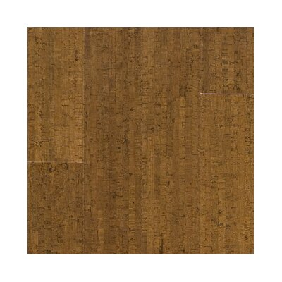 "US Floors Almada Marcas 4-1/8"" Engineered Locking Cork Flooring in Coco"