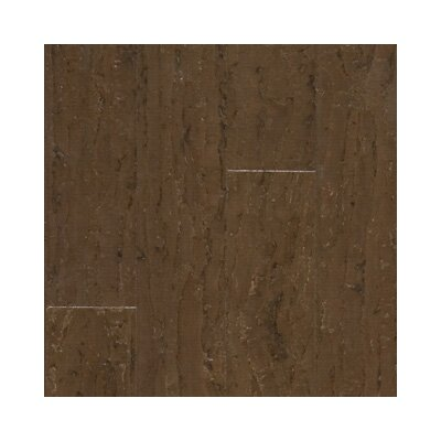 "US Floors Almada Tira 4-1/8"" Engineered Locking Cork Flooring in Terra"