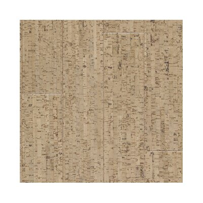 "US Floors Almada Marcas 4-1/8"" Engineered Locking Cork Flooring in Areia"