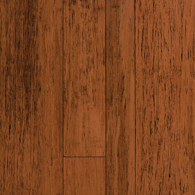 Natural Bamboo Expressions Multiwidth Solid Locking Strand Woven Bamboo Flooring in Antique Spice