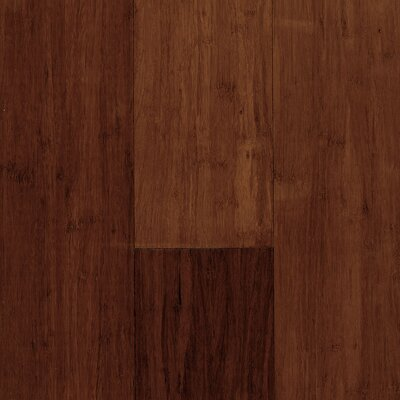 """US Floors Natural Bamboo Expressions 5-1/4"""" Solid Locking Strand Woven Bamboo Flooring in Acorn"""