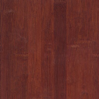 "US Floors Glueless Locking 5-1/4"" Engineered Bamboo Flooring in Cognac"