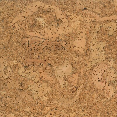 "US Floors Natural Cork Glue Down Tiles 12"" Homogeneous Cork Parquet Flooring in Douro Matte"