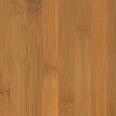 "US Floors Glueless Locking 5-1/4"" Engineered Bamboo Flooring in Horizontal Spice"