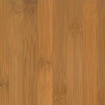 "US Floors Natural Bamboo Traditions 3-3/4"" Solid Bamboo Flooring in Horizontal Spice"