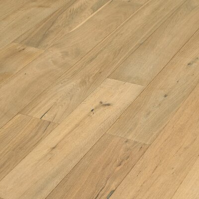 "US Floors Navarre 7-1/2"" Smooth Rustic Engineered Oak Flooring in Montauban"