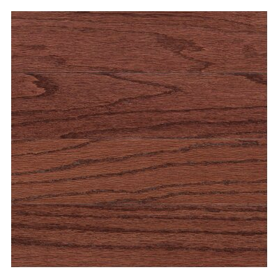 "Columbia Flooring Augusta 5"" Engineered Red Oak Flooring in Henna"