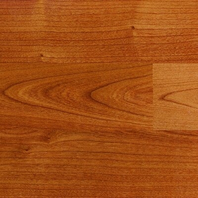 Columbia Flooring Traditional Clicette 7mm Cherry Laminate in Maryland Cherry Burgundy