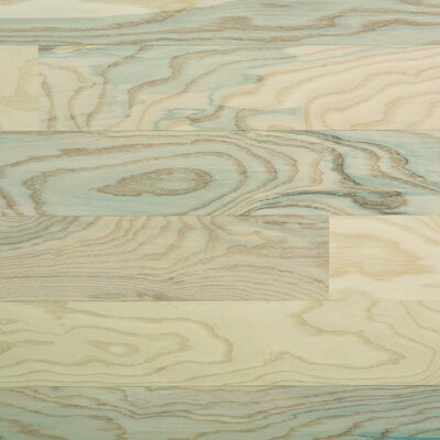 "Columbia Flooring Silverton 5"" Engineered Hardwood Ash Flooring in Snow Cap"