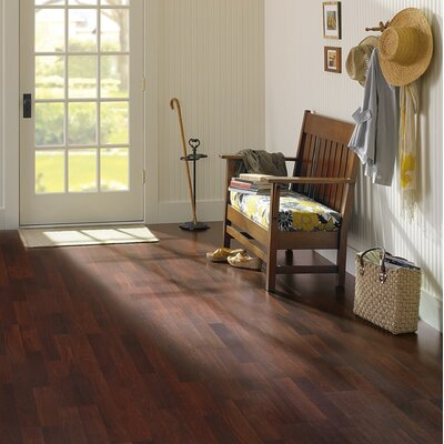 Columbia Flooring Clic Xtra 8mm 2-Strip Walnut Laminate in Riverbed Walnut