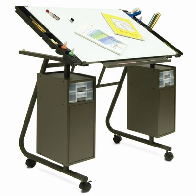 """Studio Designs Cascade Magnetic 40.5"""" W x 25.75"""" D Drafting Table"""