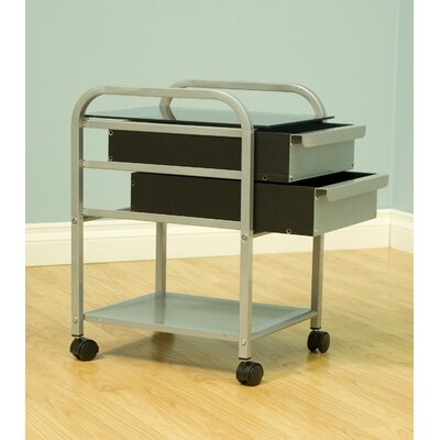 "Studio Designs Glass Futura / Vision 13.75"" W X 17"" D Desk Drawer"