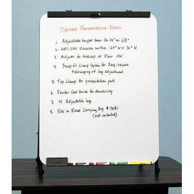 Studio Designs Deluxe Presentation Easel in Black