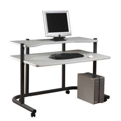 Studio Designs Pewter Computer Workstation