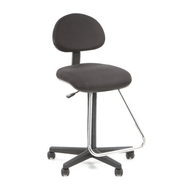 Studio Designs Height Adjustable Drafting Chair with Footrest