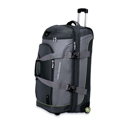 "High Sierra AT3 Sierra-Lite 32"" Drop-Bottom 2-Wheeled Travel Duffel"