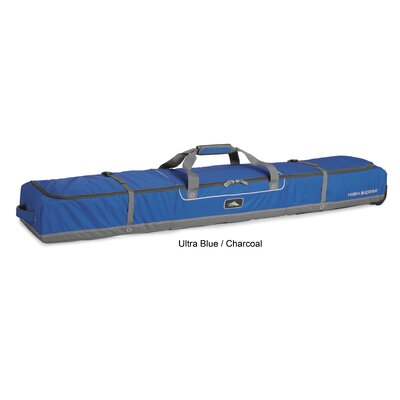 Ski Wheeled Double Ski Bag - 185cm