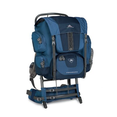 High Sierra Foxhound 50 External Frame Backpack