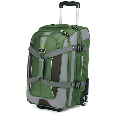 """High Sierra AT6 22"""" 2-Wheeled Expandable Carry-On Duffel"""