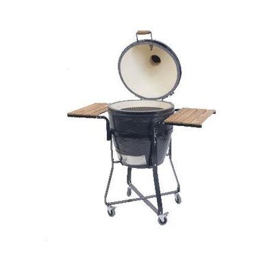 Wood Side Table for Extra Large Oval Grill or Kamado Grill