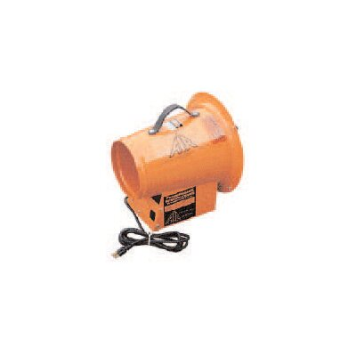 "Air Systems (International) Axial Fan 1/3HP 115VAC W/8"" Diameter Outlet CSA Electric Motor & 1395cfm Free Air"