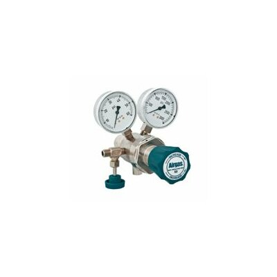 Airgas - 50 PSI Delivery General Purpose Two Stage Brass Regulator With 3000 PSI Maximum Rated Inlet Pressure, CGA-320