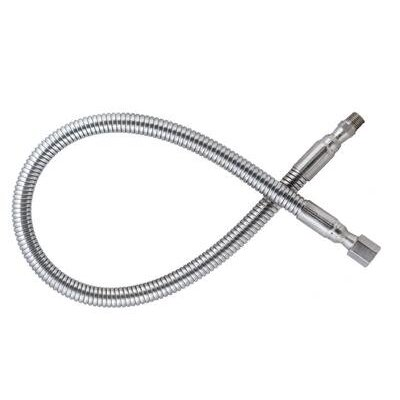 "Airgas Flexible Stainless Steel Hose With 3000 PSI Maximum Rated Inlet Pressure And 1/4"" Female NPT X 1/4"" Male NPT End Connections"