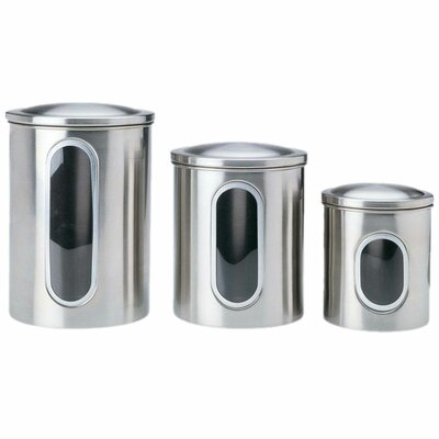 Window Canister (Set of 3)