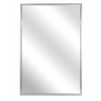 Fixed Angle Tilt-Frame Wall Mirror