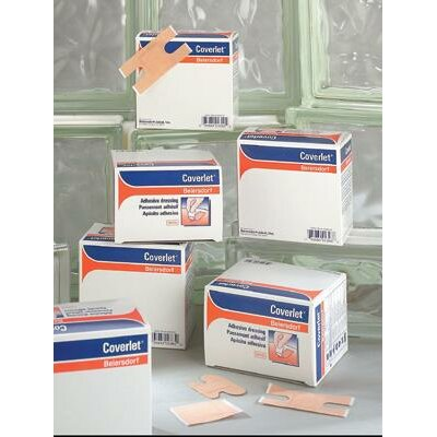 "BSN-JOBST 1/2"" X 3"" Coverlet® Fabric Adhesive Knuckle Bandage (100 Per Box)"