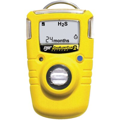 BW Technoligies Year GasAlertClip Extremee Portable Gas Detector For Oxygen