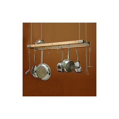 J.K. Adams Ceiling Oval Hanging Pot Rack
