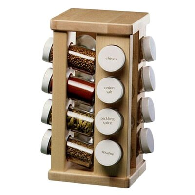 <strong>J.K. Adams</strong> Sugar Maple Carousel Spice Rack